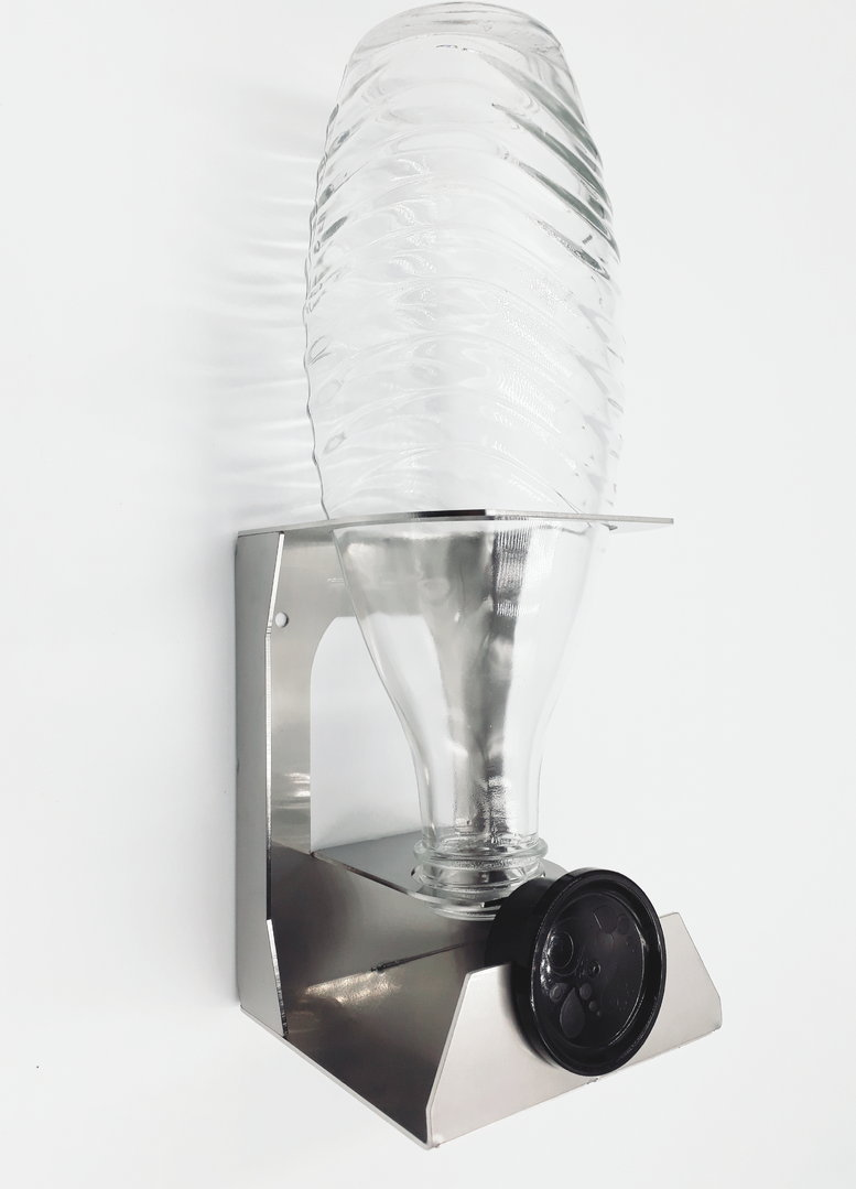 1 Stuck Abtropfhalter Kompatibel Crystal Sodastream Glasflaschen